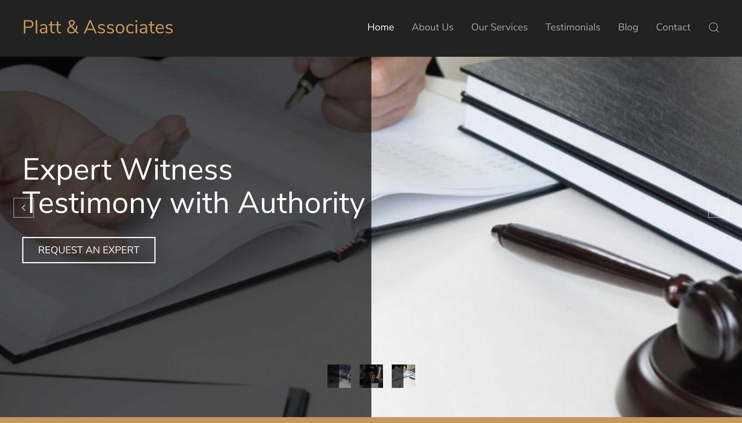 Platt and Associates  – New Website