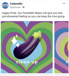 Pride week: Cottonelle marketing fail